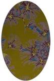 rug #732680 | oval graphic rug