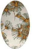 rug #732963 | oval graphic rug