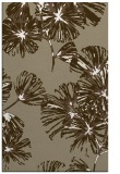rug #733109 |  mid-brown graphic rug