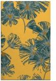 rug #733273 |  yellow graphic rug