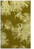 rug #733289 |  light-green natural rug
