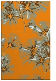 rug #733313 |  light-orange graphic rug