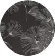 rug #733521 | round red-orange graphic rug