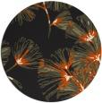 rug #733629 | round black natural rug