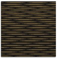 rug #737565 | square black stripes rug
