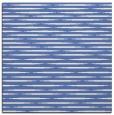 rug #737585 | square blue rug