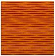 rug #737733 | square orange stripes rug