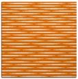 rug #737737 | square orange natural rug