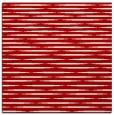 rug #737785 | square red natural rug