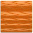rug #737805 | square red-orange natural rug