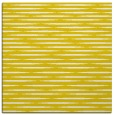 rug #737845 | square yellow stripes rug