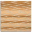 rug #737861   square orange stripes rug