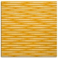 rug #737881 | square light-orange stripes rug