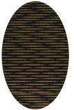 rug #737917 | oval mid-brown natural rug