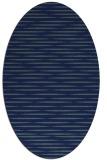 rug #737929 | oval blue-green natural rug