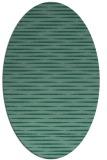 rug #737954 | oval stripes rug