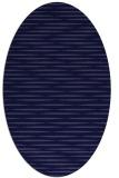 rug #737981 | oval blue-violet rug