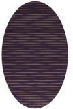rug #738129   oval purple natural rug