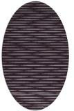 rug #738133   oval purple natural rug
