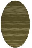 rug #738229 | oval light-green rug