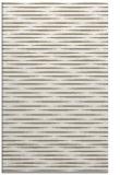 rug #738249 |  white stripes rug