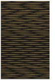 rug #738269 |  black stripes rug