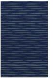 rug #738281    blue-green stripes rug