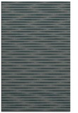 rug #738377 |  green stripes rug