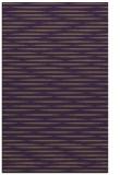 rug #738481 |  purple stripes rug