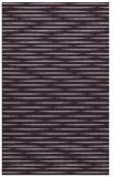 rug #738485 |  purple stripes rug