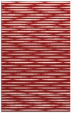 rug #738497 |  red stripes rug