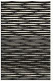 rug #738557 |  black stripes rug