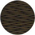 rug #738621 | round mid-brown stripes rug