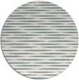 rug #738625   round blue-green natural rug