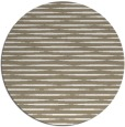 rug #738741   round white stripes rug