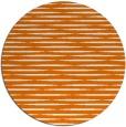 rug #738793   round orange natural rug