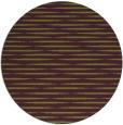 rug #738829   round purple stripes rug