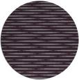 rug #738837 | round purple natural rug