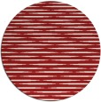 rug #738849 | round red natural rug