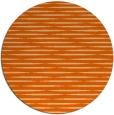 rug #738861 | round red-orange popular rug