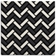 rug #739309 | square black retro rug