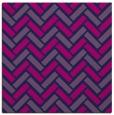 rug #739333 | square pink retro rug