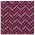 rug #739397 | square blue-violet retro rug