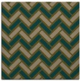 rug #739425 | square brown retro rug