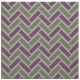 rug #739485 | square purple retro rug