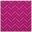 rug #739513   square pink retro rug