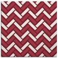 rug #739517 | square pink retro rug