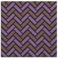 rug #739537 | square purple retro rug