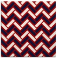 rug #739545 | square red retro rug