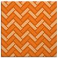 rug #739565   square red-orange retro rug